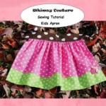 Free Kids Apron Sewing Pattern