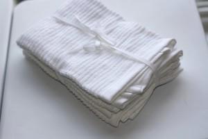 Embellishment Idea For Storebought Dish Towels