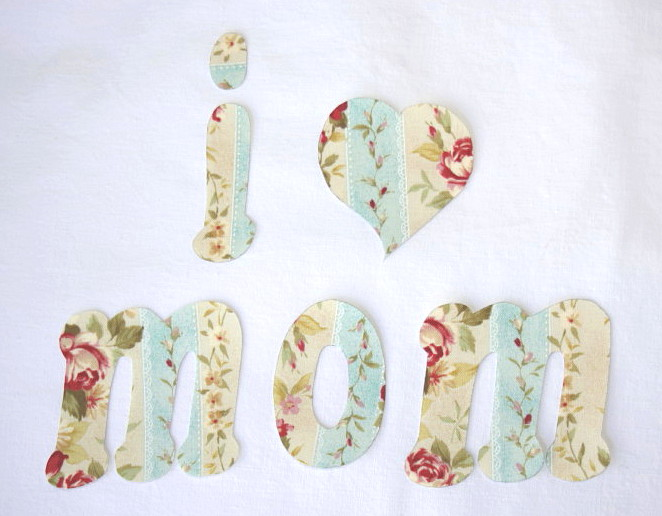 Free Applique Templates - I Heart Mom - Whimsy Couture Sewing Patterns