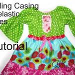 Free Tutorial – Adding Casing For Elasticized Ribbon Ties