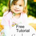 Free Tutorial – Reversible Headscarf