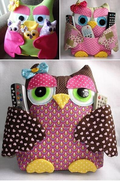 Free owl sewing pattern.