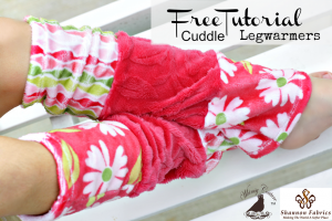 Free Leg Warmer Sewing Pattern – Made With Cuddle Fabric