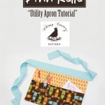 Free Utility Apron Sewing Pattern By Ann Kelle & Whimsy Couture