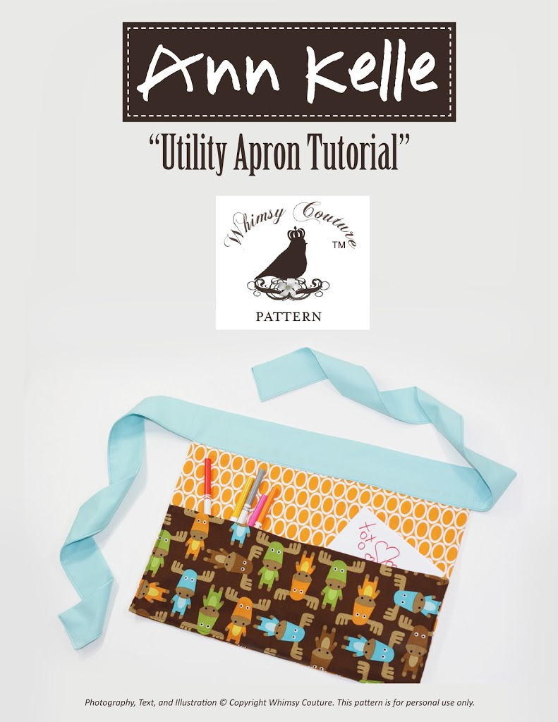 Free half apron pattern