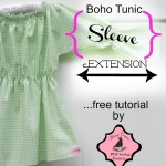 Free Tutorial – Boho Tunic Long Sleeve Extension Tutorial {FREE}