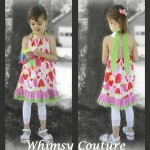 Free Tutorial – Make A Halter From Any Existing Pillowcase Top/Dress Sewing Pattern