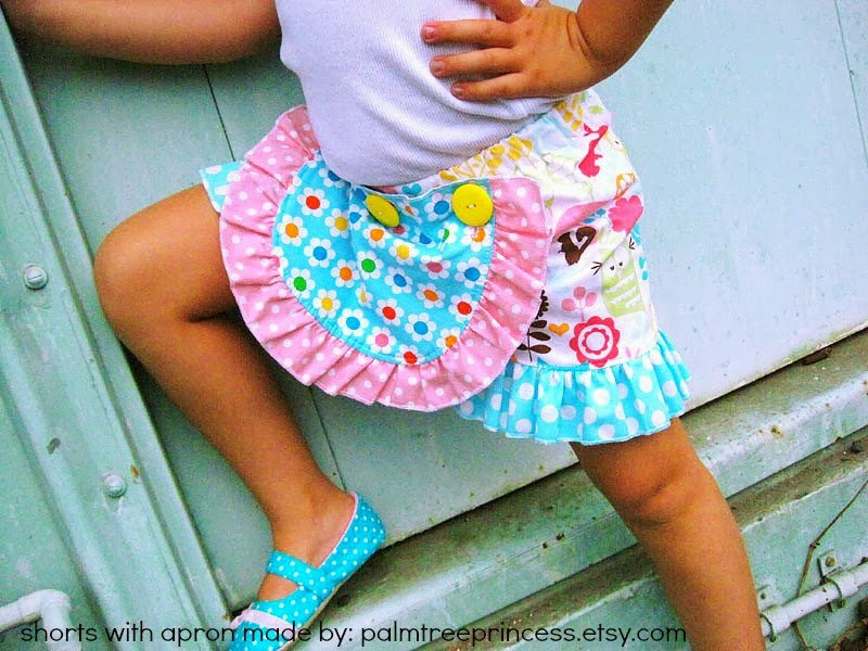 Free Ruffle Apron Sewing Pattern - Make It Detachable - Whimsy ...
