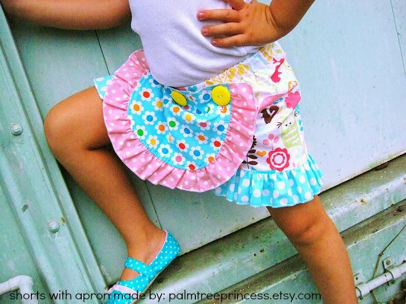 Free Sewing Pattern Detachable Ruffle Apron
