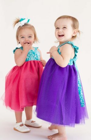 Almost Famous Tulle Dress Pattern for Girls. Whimsy Couture