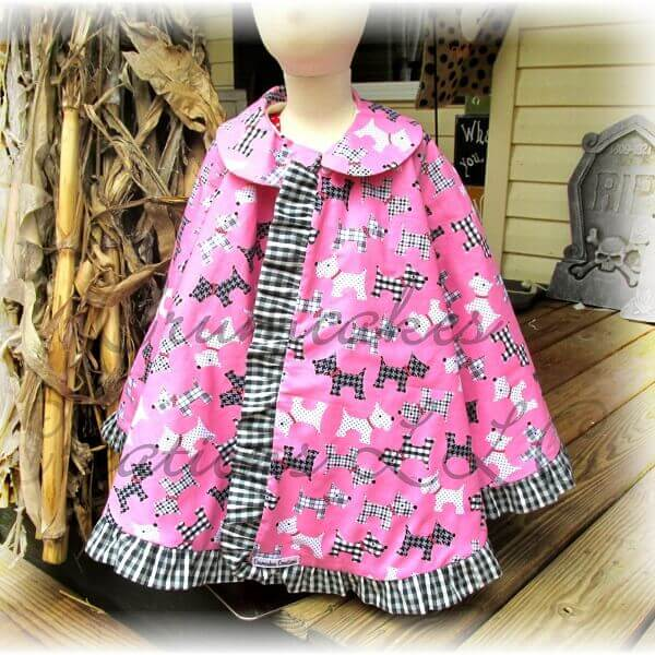 Vintage Cape Sewing Pattern Whimsy Couture Sewing Patterns Products