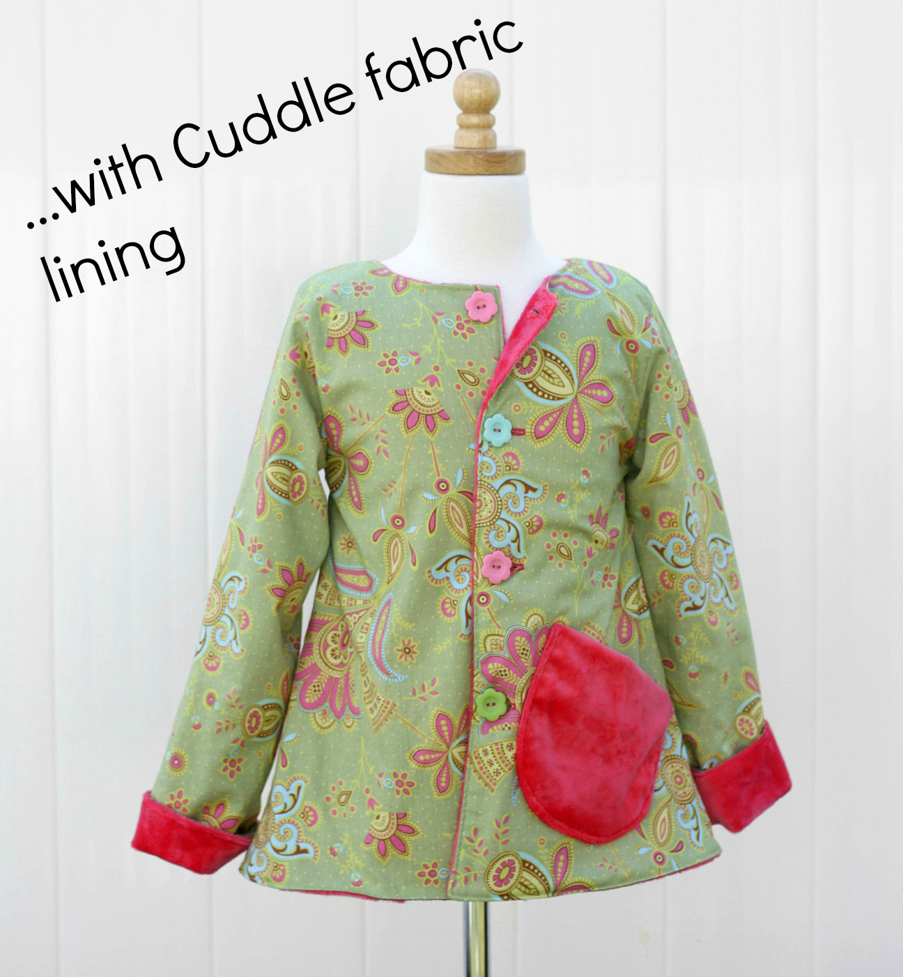 Reversible Jacket PDF Sewing Pattern Images - Frompo