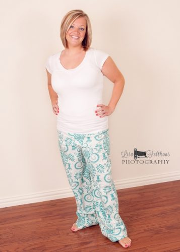 Ladies lounge pants pattern