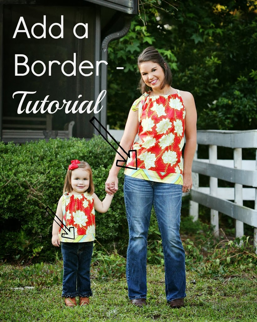 Add A Border To Any Garment – Free Sewing Tutorial