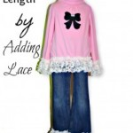 Free Tutorial – Extending Length By Adding Lace