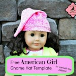 Free American Doll Gnome Hat Template