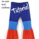 How To Reuse Old Clothes To Make Knit Pants