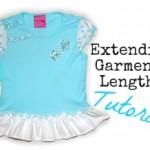 Free Tutorial – How To Extend A Garment's Length