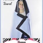 Free Tutorial – Cuddle Terry Hooded Towel