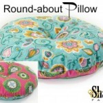 Free Round-About Pillow Sewing Pattern