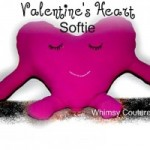 Free Pattern – Valentine's Heart Plushie