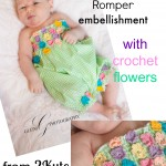 Free Tutorial – Embellish Your Garments With Crochet Flowers