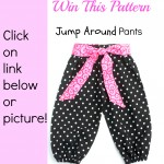 Giveaway – Win The Jump Around Pants Sewing Pattern