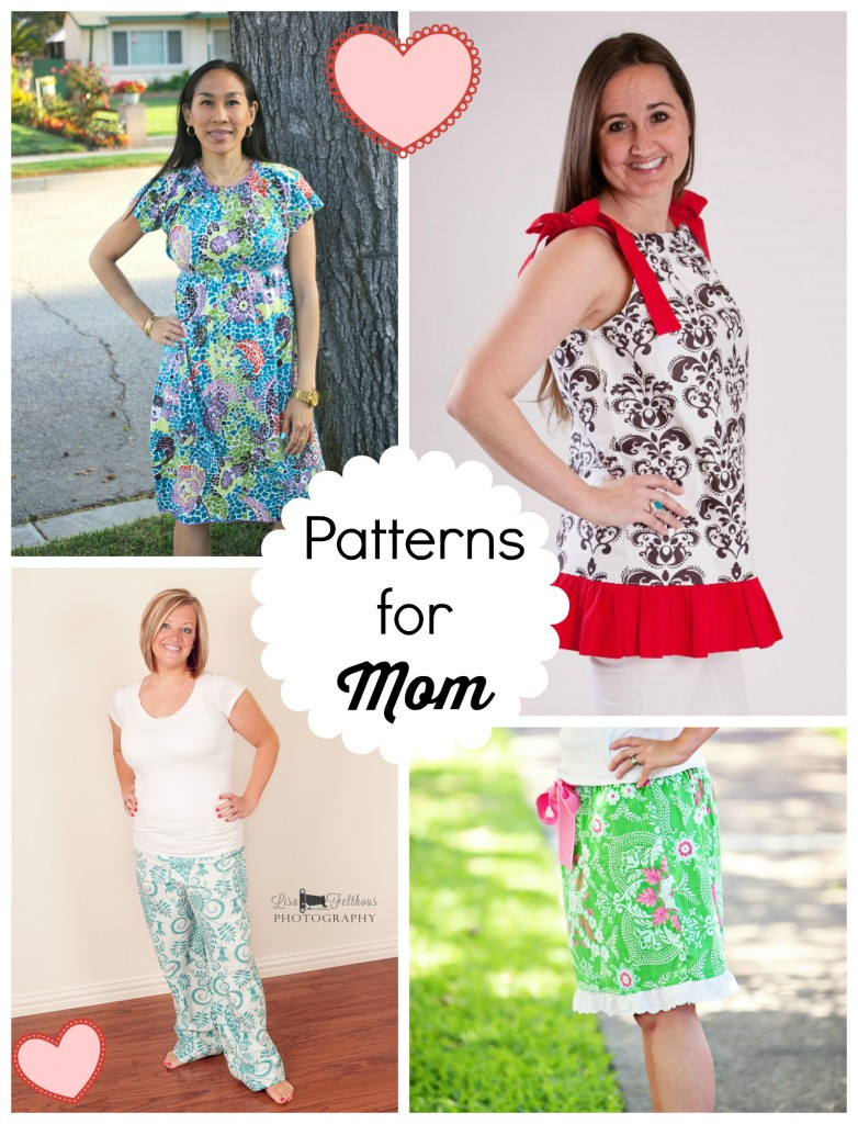 ladies sewing patterns mom