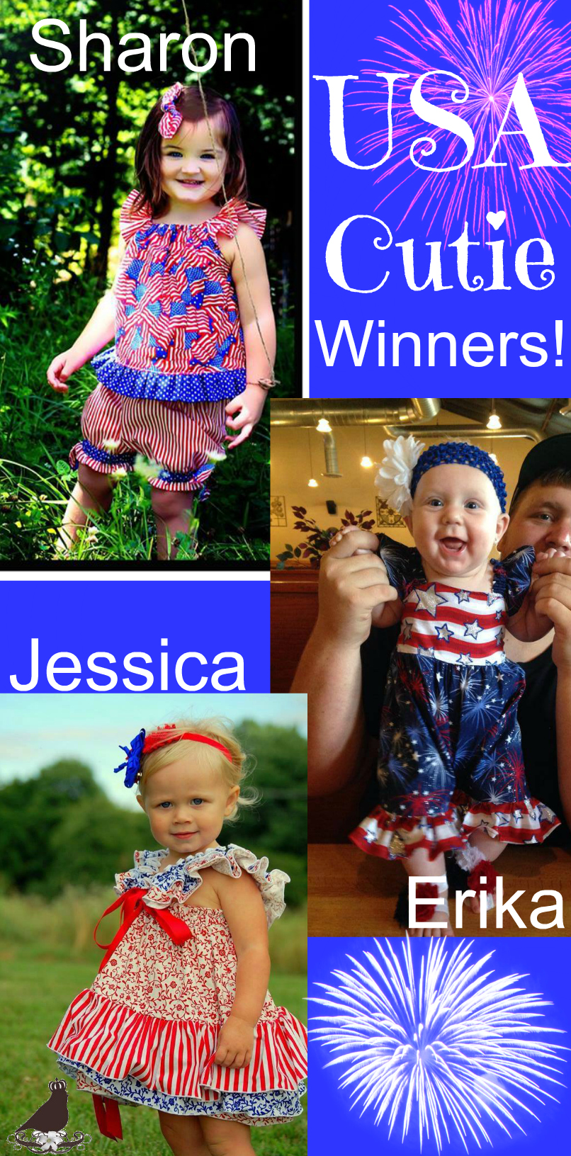 USA Cutie Winners
