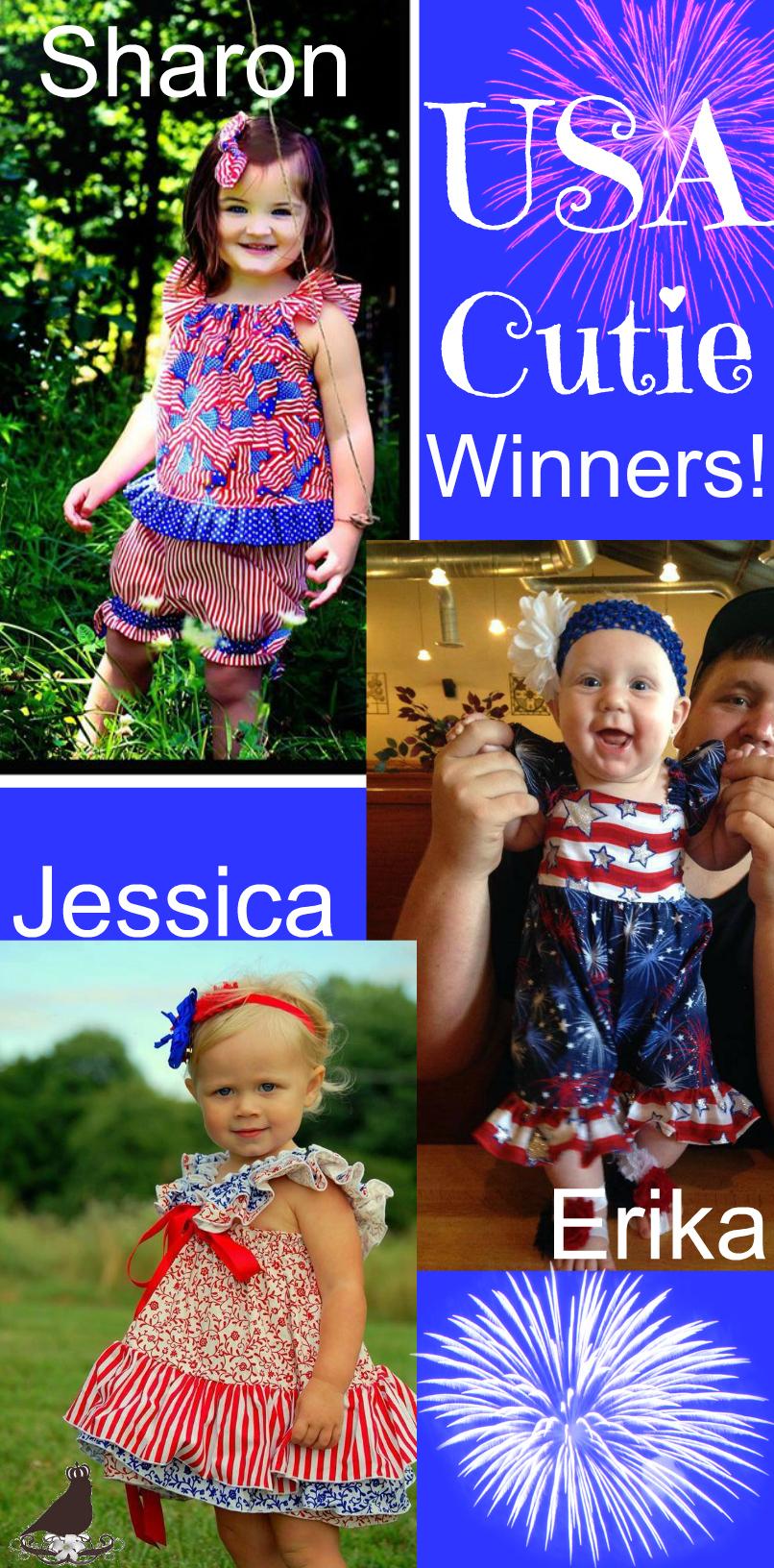USA Cutie Winners