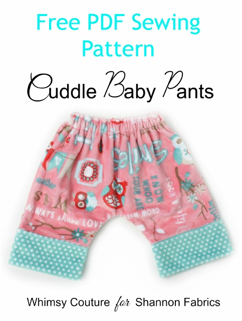 Free Baby Pants Sewing Pattern - Whimsy Couture Sewing Patterns