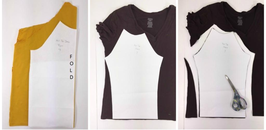 knit t-shirt recycle tutoria