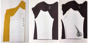 knit t-shirt recycle tutoria