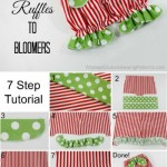Free Tutorial – How To Add Ruffles To Bloomers