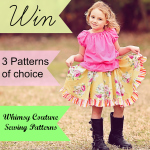 Giveaway – Win 3 Whimsy Couture Sewing Patterns