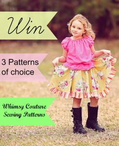 Whimsy Couture Sewing Patterns Giveaway)