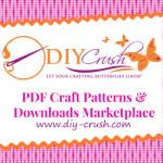 Free Sewing & Craft Patterns At DIY Crush