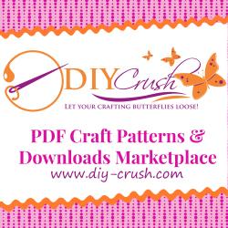 digital pattern marketplace   DIY Crush