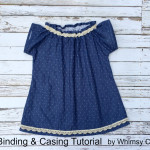 How To Finish Hems Without Serger & Add Casing For Elastic
