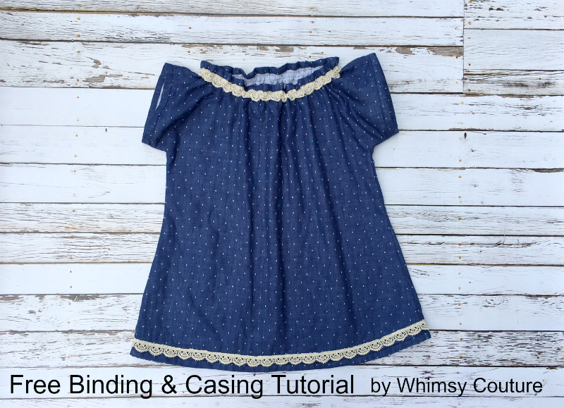 Free Binding And Casing Tutorial | Whimsy Couture