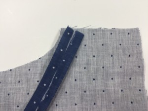 How To Make Binding To Hem Raw Edges | Whimsy Couture