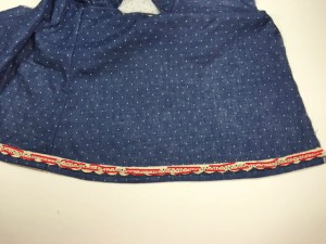 Sew Lace To The Bottom Of A Garment | Whimsy Couture