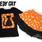 Free Scaredy Cat Applique For Halloween