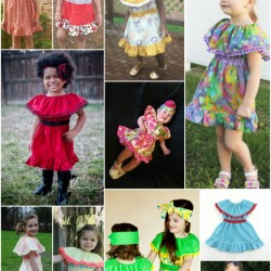 Celebration Dress Sewing Pattern by Whimsy Couture