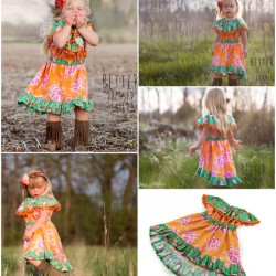 The Celebration Girls Dress Pattern