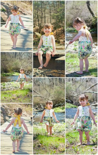 Free Sun Suit Pattern | Whimsy Couture