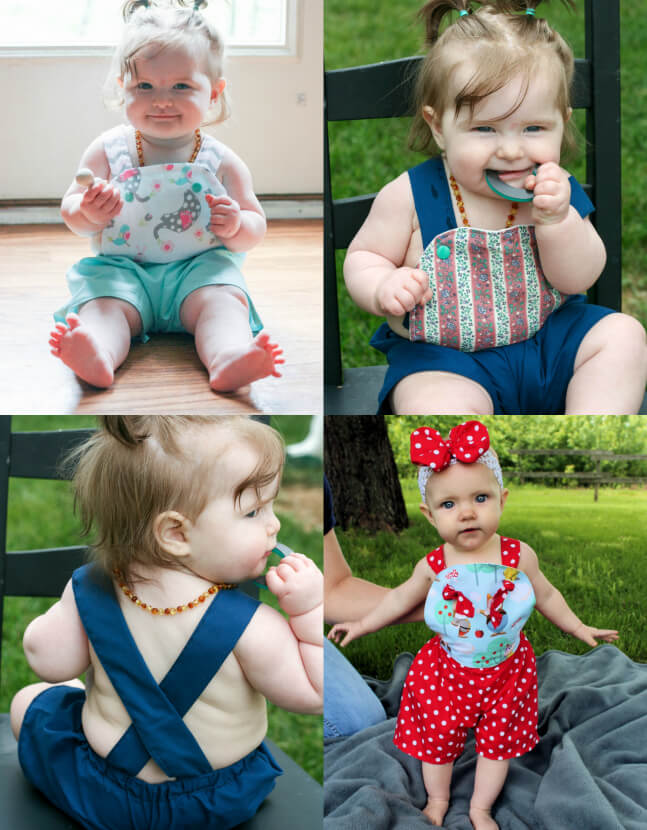Sun suit pattern by Whimsy Couture