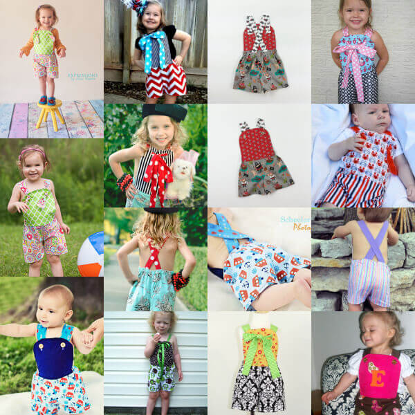 Sunsuit Sewing Pattern
