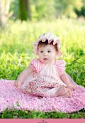 Peasant Dress Pattern with Apron and sash. Easy to sew, a great beginners pattern by Whimsy Coutur