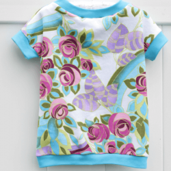 t-shirt sewing pattern for girls